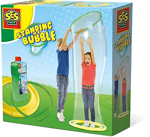 SES Creative Stelle dich in eine Riesenblase - Seifenblasen (750 ml, Beide Geschlechter, Kinder, 5 Jahr(e), Box, 250 mm)