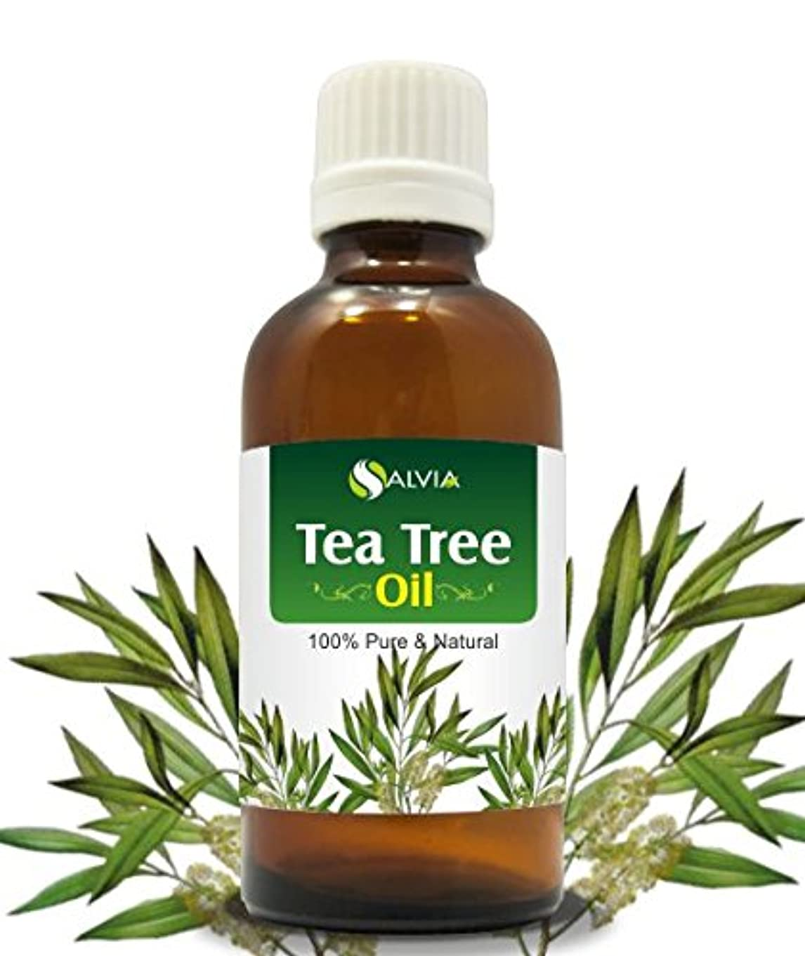 思慮深い助手中古TEA TREE OIL 100% NATURAL PURE UNDILUTED UNCUT ESSENTIAL OIL 30ML