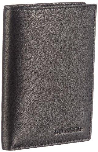 Samsonite Hirsch Deluxe 130.659, Unisex - Erwachsene Portemonnaies, Schwarz (BK), 9x13x2 cm (B x H x T)