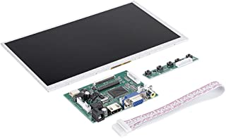 9 Inch LCD Display Module for Raspberry Pi - LCD Resolutions up to 1024 * 600,Plug and Play - Raspberry Pi HDMI + VGA + 2A...