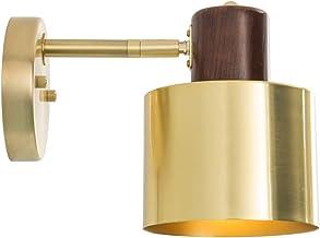 WDX- Wandlamp Messing Badkamer Spiegel Kast Lamp Woonkamer Slaapkamer Nachtkastlamp Wandlamp (Kleur: E)