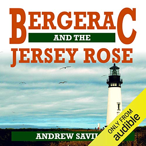Bergerac and the Jersey Rose audiobook cover art
