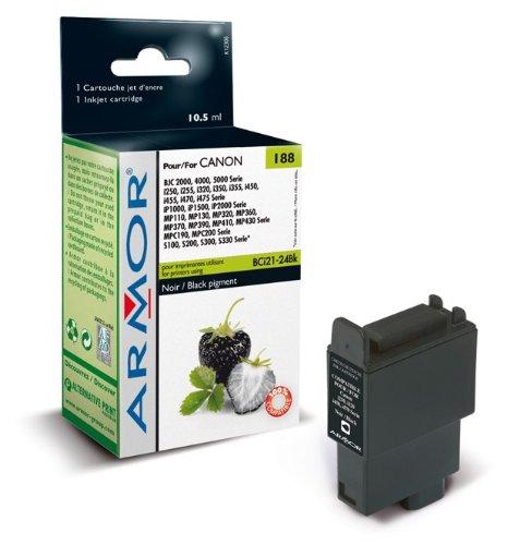 Für Canon Pixma IP 1500 (Black) Patrone - Armor Druckerpatrone für IP1500, kompatibel, 10, 5ml