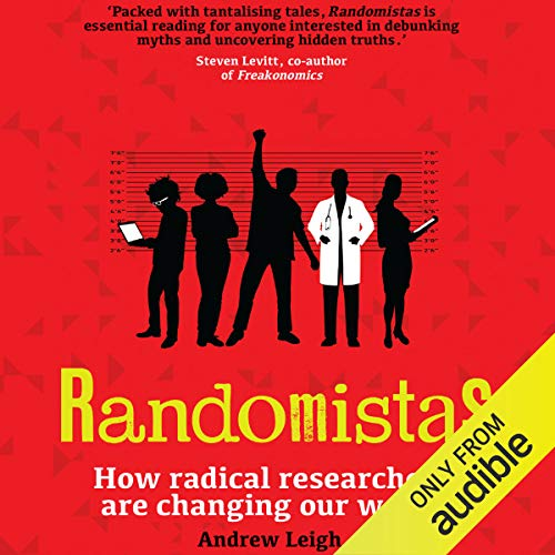 Randomistas audiobook cover art
