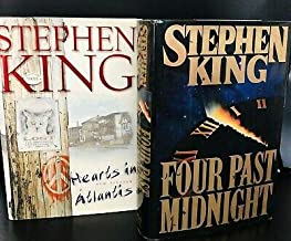 stephen king books hardcover Four Past Midnight & Hearts In Atlantis