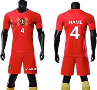 belgium football uniform
