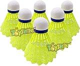 Best Badminton Shuttlecocks - Toyshine Multicolor Nylon Stable and Sturdy Badminton Shuttlecocks/Shuttles Review