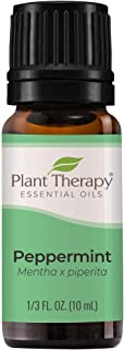 Plant Therapy Peppermint Essential Oil 100% Pure, Undiluted, Natural Aromatherapy, Therapeutic Grade 10 mL (1/3 oz)