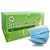50 Pcs Medical Mask   Disposable Mask With Filter 4 Layer - Blue Fit For Men And Women - Gift For Dad Mom