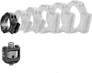 "Leofoto TDC-22 + CF-9 22mm Clasp/Collar + 3/8"" Screw Stud. Accessory Mount/Port for Tripod Leg"