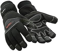 RefrigiWear Waterproof Fiberfill Insulated Tricot Lined High Dexterity Work Gloves