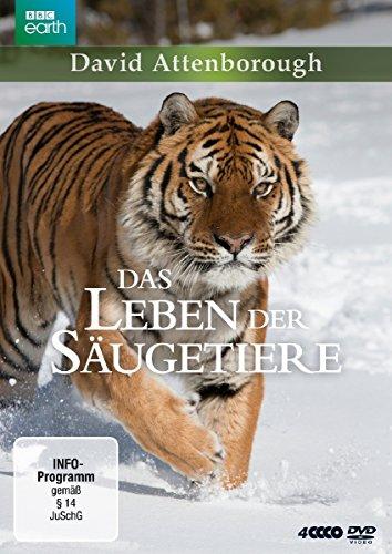 David Attenborough: Das Leben der Säugetiere - Die komplette Serie [4 DVDs]