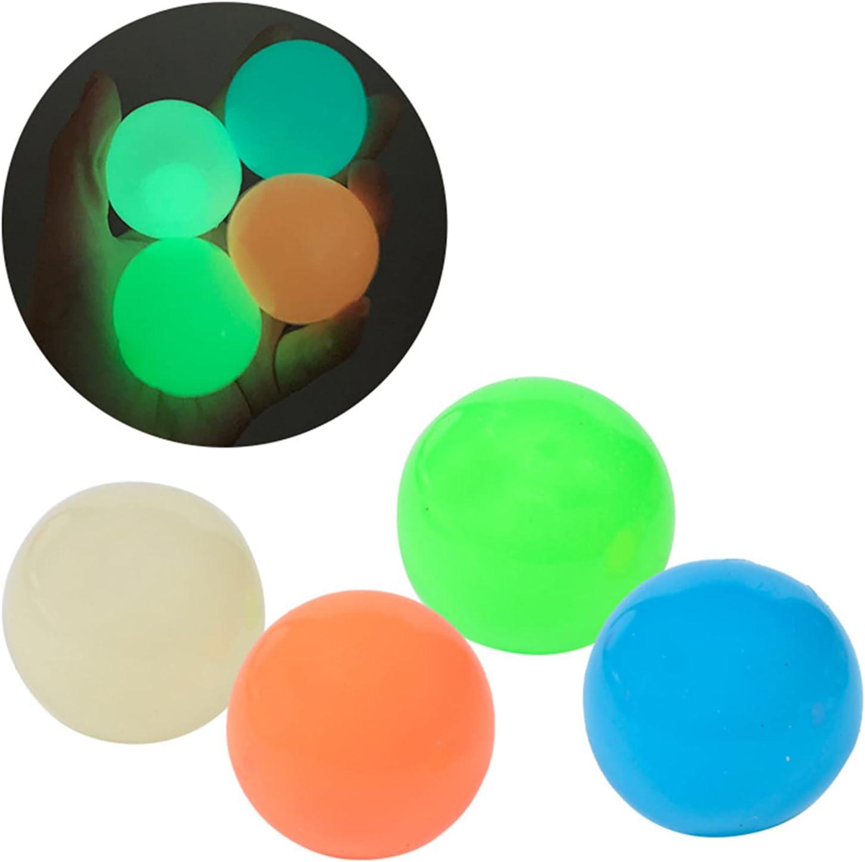 SDGSA 45mm Luminous Sticky Ball Throws National uniform free shipping Omaha Mall on The Squash Ceiling Chi