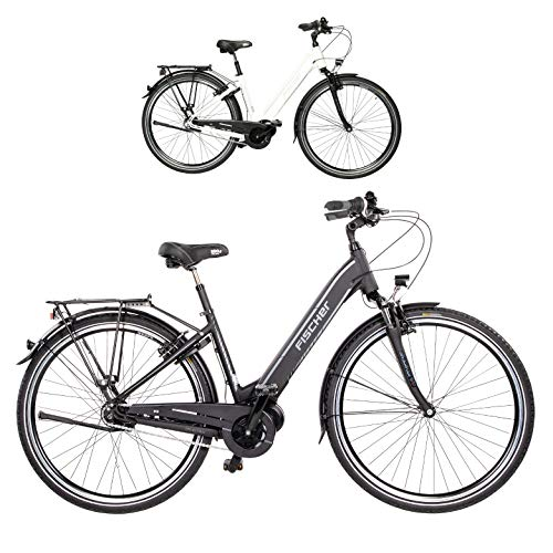 FISCHER Schwarz City Cita 3.1i (2020) -Bicicleta eléctrica (28