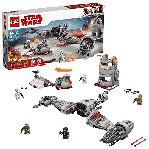 LEGO Star Wars 75202 - Defense of Crait, Spielzeug