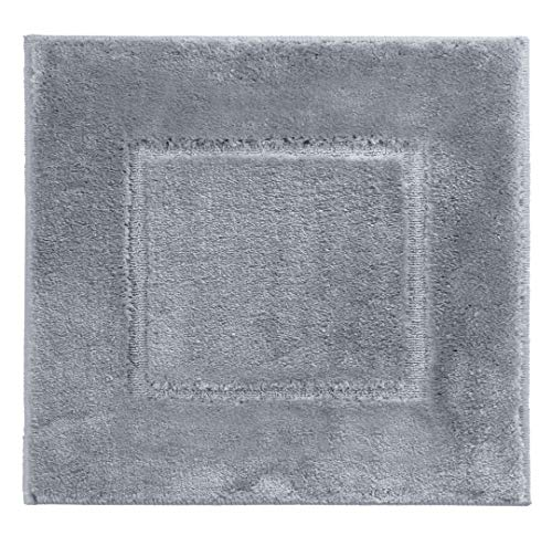 Ridder Stadion badmat, tapijt, mat, polyester, lichtgrijs, ca. 50 x 50 cm.