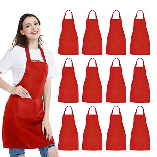 delantal rojo fabricante NOBONDO
