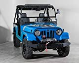 Compatible with Mahindra Roxor Full Tilting UTV Windshield 3/16' - Made in the USA!.