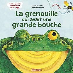 livre La grenouille qui avait une grande bouche