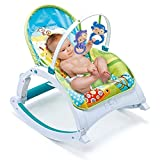 Webby Newborn to Toddler Musical Portable Baby Rocker