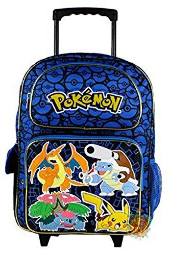 Grand trolley POKEMON bleu Disney PRIMAIRE sac a dos...