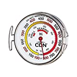 CDN Grill Surface Thermometer, Silver