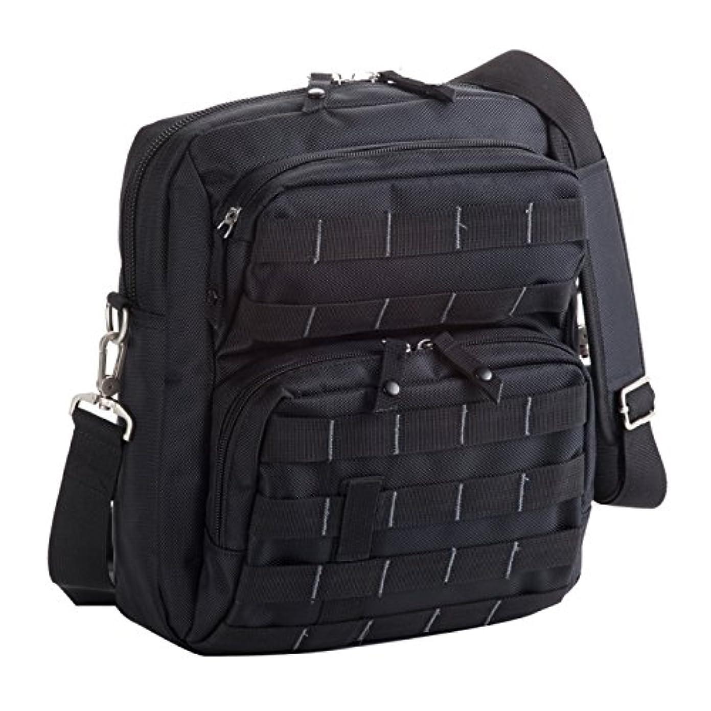 不純プランター抗生物質メンズ 紳士 バッグ 肩掛けカバン マグナム MBZシリーズ ショルダーバッグ 黒 33657