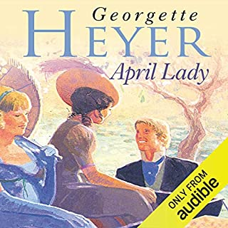 April Lady                   By:                                                                                                                                 Georgette Heyer                               Narrated by:                                                                                                                                 Eve Matheson                      Length: 9 hrs and 9 mins     112 ratings     Overall 4.2