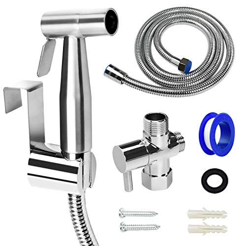 ORANGEHOME Bidet Sprayer for Toilet, Handheld Bidet Toilet Attachment Sprayer, Bathroom Sprayer Kit,...