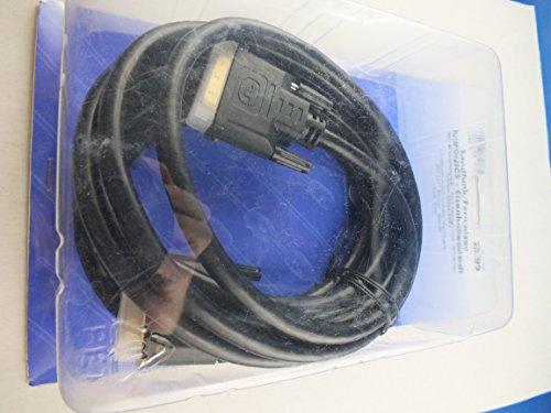 DVI - Monitor- Anschklusskabel High Quality - DVI 24 + 1 Stecker - Stecker, Länge 3,0 m - C582/3 - Euronics