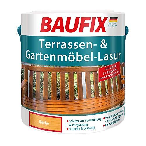 BAUFIX Terrassen- und Gartenmöbel-Lasur Lärche