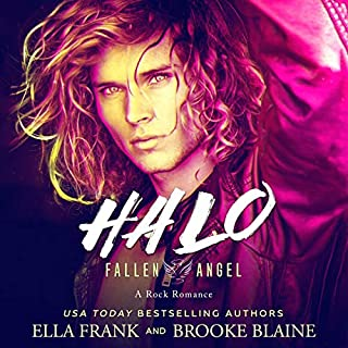 Halo      Fallen Angel, Book 1              By:                                                                                                                                 Ella Frank,                                                                                        Brooke Blaine                               Narrated by:                                                                                                                                 Charlie David                      Length: 7 hrs and 21 mins     7 ratings     Overall 3.9
