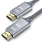 HDMI ケーブル ハイスピード 2m A-A HDMI CABLE PSE認証済み HDMI-HDMIケーブル Ver2.0 1080p/2160p 4K/2K対応 UHD 3D HDR 60Hz 18Gbps 高速イーサネット ARC CEC Xbox PS3 PS4 PC対応 グレー(2m)