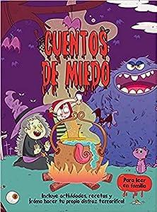 Cuentos de miedo Tapa de calidad Idioma Español Óptimo para leer