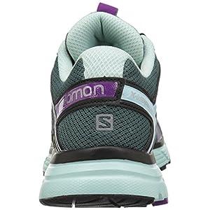 Salomon Women's X-Mission 3 Trail Running Shoes, North Atlantic/Eggshell Blue/Grape Juice, 8.5