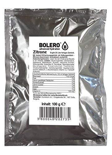 Bolero Drink - Eistee Zitrone mit Stevia - 88g Beutel