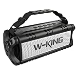 W-KING 50W Enceinte Bluetooth Portable & Batterie de Recharge 8000 mAh, Autonomie 24...