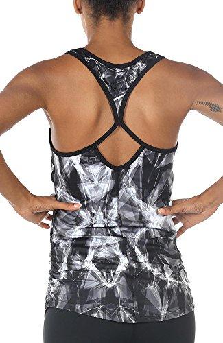 icyzone Débardeur de Sport Femme, Shirt sans Manches,...