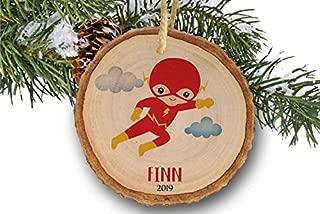 Personalized Christmas ornaments, Flash,Superheroes, Toy, Name Ornament, Personalized Name Ornament, Flash Xmas Ornament