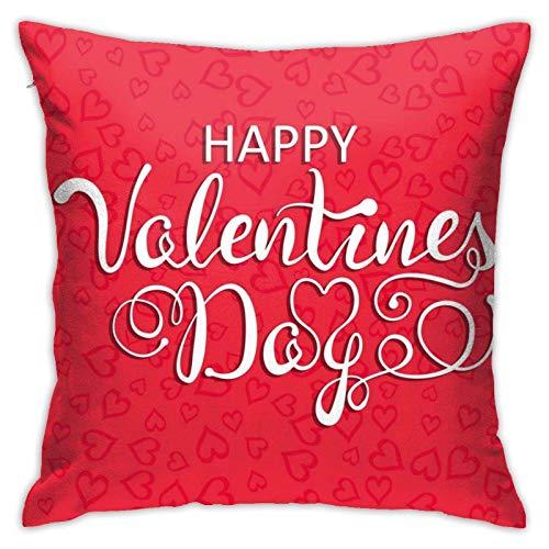 Fundas de almohada para el día de San Valentín para niñas, mujeres, niños, sofá, decoración del hogar