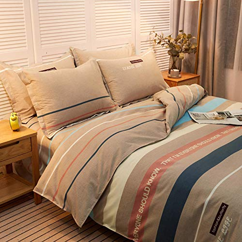 Flannel Bed Sheets Queen Four-Piece Quilted Bed Skirt On Thick Coral Fleece Bed To Keep Warm In Winter 1.5m Bedspread