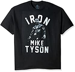 Boxing Hall of Fame Men's Iron Mike Tyson T-Shirt Product Overview