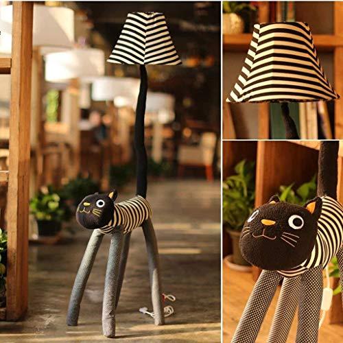 GYW-YW Suelo de uplighter Lámparas de pie, llevó la historieta creativa lámpara de pie, Meng gato Lámpara de piso, la luz del piso de la sala dormitorio for niños lámpara de pie, lámpara Eye-El cuidad