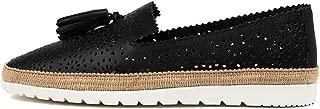 diana ferrari Andaluse Black Leather Black Womens Shoes Espadrilles High Heels