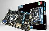 SCHEDA MADRE H81 1150 DDR3 HDMI DESKTOP MOTHERBOARD COMPUTER CPU I3 I5 I7