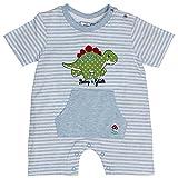 Salt & Pepper Babyglück Spieler,Streifen Größe: 56 Farbe: jeans blau