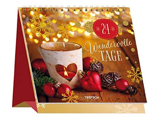 Trötsch Adventskalender 24 wundervolle Tage: Aufstelladventskalender