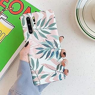 MIEOSEG Vintage Leaf Phone Case For Huawei P40 P30 P20 Pro Lite Honor 20 10 Nova 5 4 3 Luxury PC Hard Full Body Phone Back...