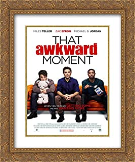 That Awkward Moment 20x24 Double Matted Gold Ornate Framed Movie Poster Art Print