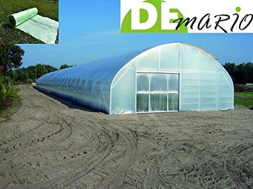 de-mario Film Tunnel pour Serre UV4 à tomates Largeur 12 m